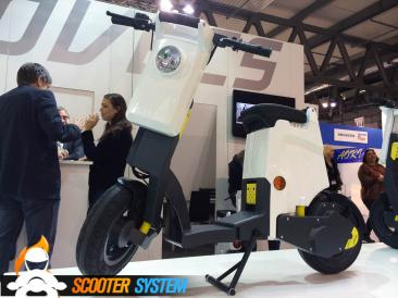 GiGi, scooter électrique, scooter pliable
