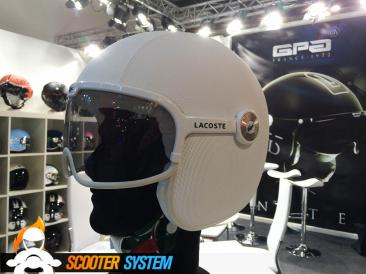 casque, casque jet, GPA, Lacoste, luxe