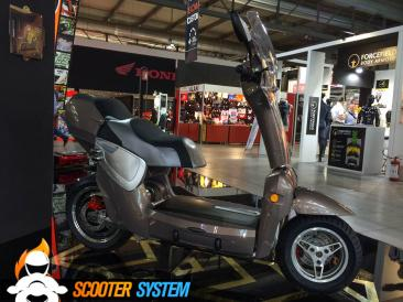 scooter électrique, scooter pliable, Xor Motors, Xor XO2