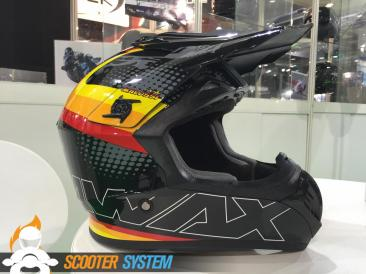 Awax, casque, casque cross, Malossi
