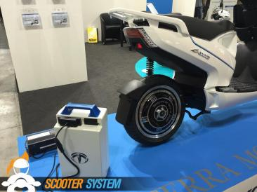 batterie, scooter électrique, Terra Motors