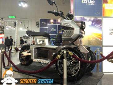 concept scooter, iTrike, scooter 3 roues, scooter électrique