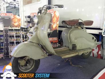 Lambretta, Rat Rod, scoot en tôle
