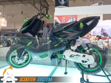 MBK Nitro, Monster Energy, scooter 50, Tuning