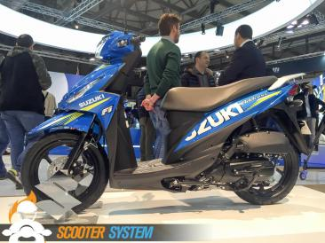 scooter 125, scooter à grandes roues, Suzuki, Suzuki Address