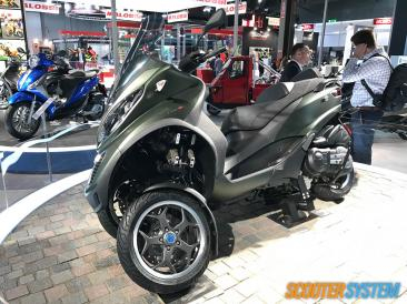 maxiscooter, Piaggio, Piaggio MP3, scooter 3 roues, scooter 500