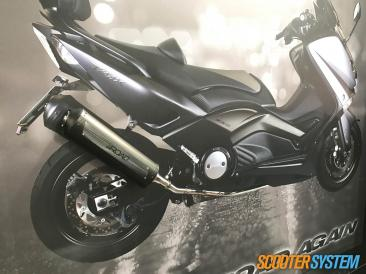 GPR, GPR 4Road, ligne d'échappement, maxiscooter, Yamaha T-Max