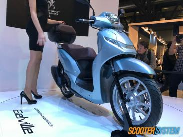 maxiscooter, Peugeot, Peugeot Belville, scooter à grandes roues