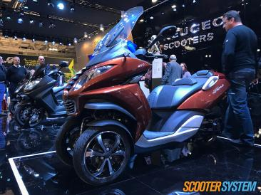 Peugeot, Peugeot Metropolis, scooter 3 roues, scooter 400