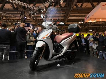 Kymco, Kymco People, scooter 125, scooter à grandes roues