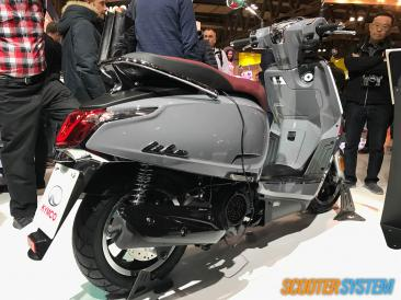 Kymco, Kymco Like, scooter 125, scooter rétro, scooter urbain