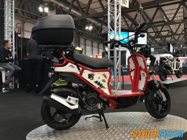 IMF Industrie, IMF Ptio, livraison en scooter, scooter 50, scooter utilitaire