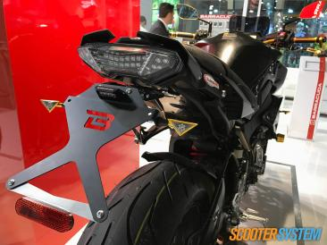Barracuda, CNC, support de plaque, Yamaha MT