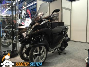 Ermax, pare-brise, scooter 125, scooter 3 roues, Yamaha, Yamaha Tricity