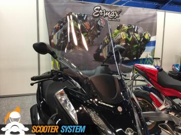 Ermax, pare-brise, scooter 125, scooter 3 roues, Yamaha Tricity