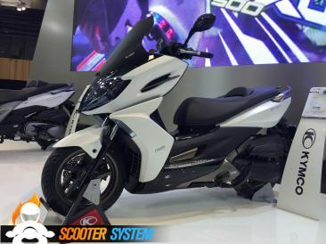 Kymco, Kymco K-XCT, scooter 125, scooter GT