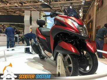scooter 125, scooter 3 roues, Yamaha, Yamaha Tricity
