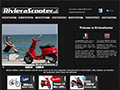 Site web Riviera Scooter