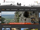 Site web Ride in Tours