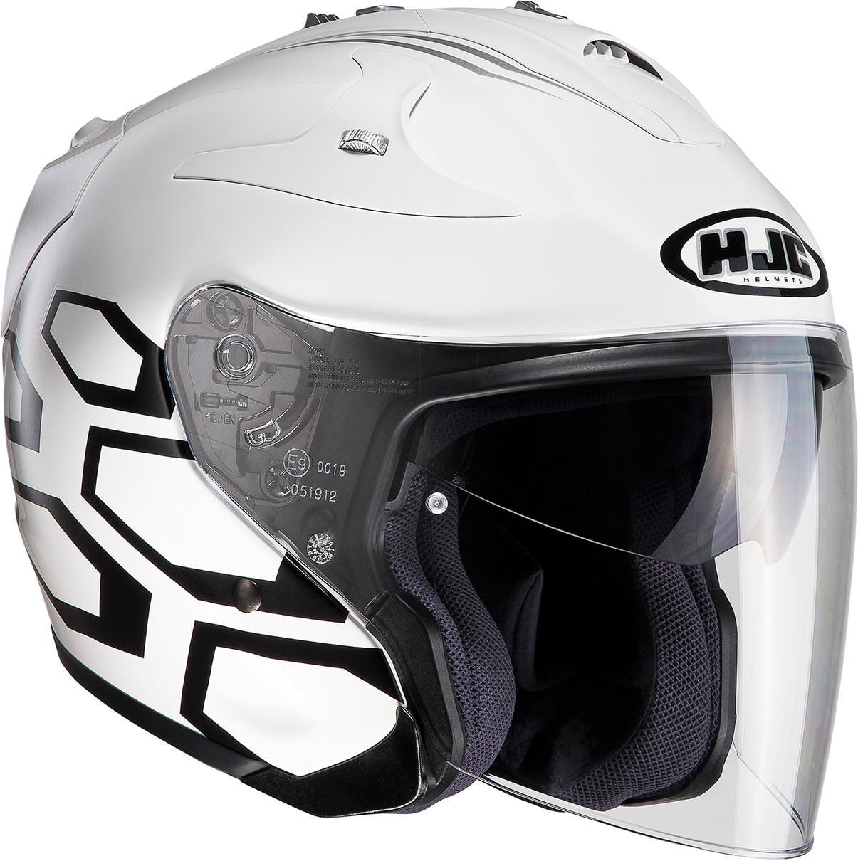 CASCO JET HJC FG-JET DUKAS MC10 - HelmetHouse.it