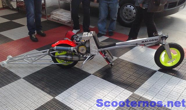 Dragster Malossi MHR Team