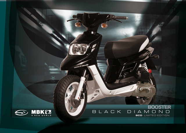 Le MBK Booster Spirit Black Diamond