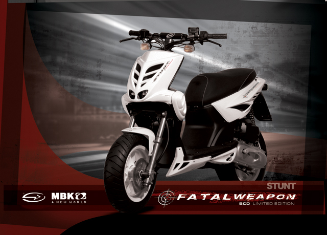 Le MBK Stunt Fatal Weapon