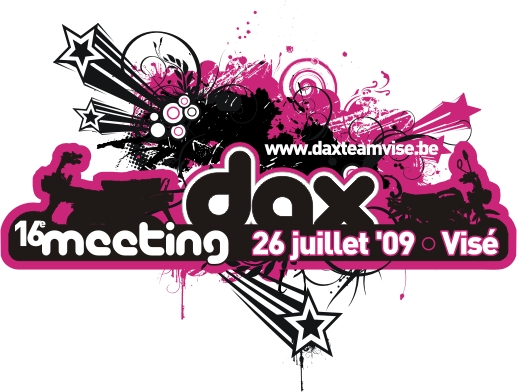 Affiche du meeting Dax Team Visé 2009