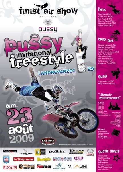 Pussy Invitational Freestyle 2009 par Finist'Air Show