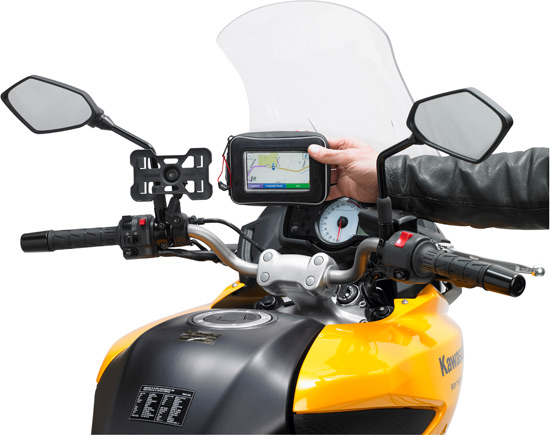 Support de GPS moto et scooter Givi