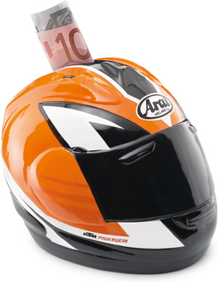 Tirelire KTM Cash Helmet