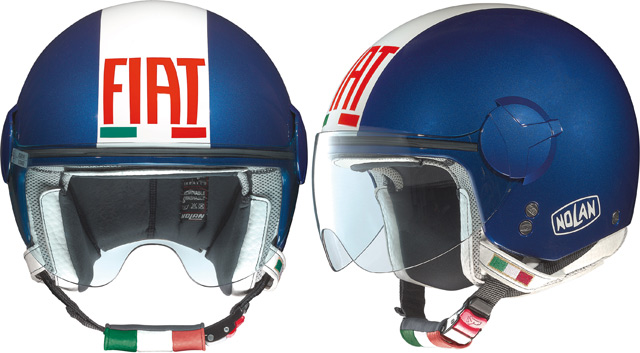 Casque moto et scooter jet Nolan N20 Fiat Racing Edition