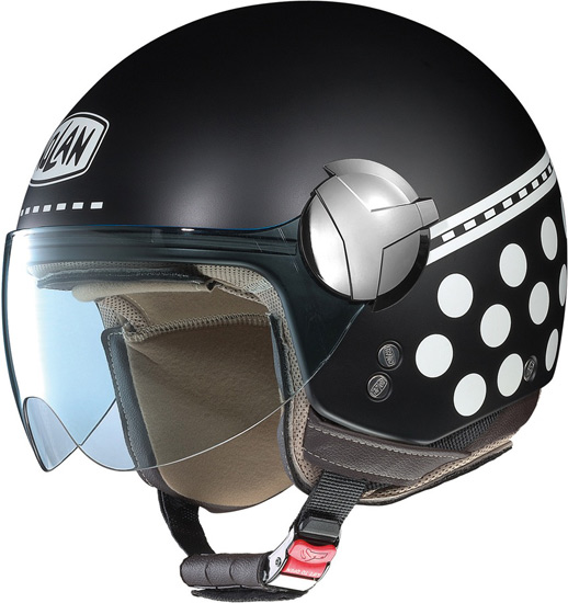 Casque moto jet Nolan N20 Traffic Pois Plus