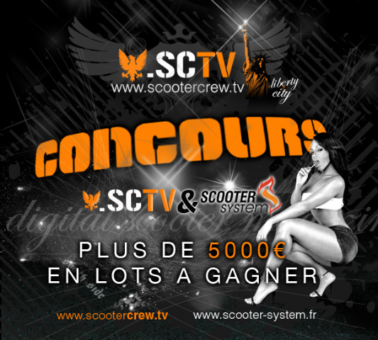 Concours ScooterCrew & Scooter System