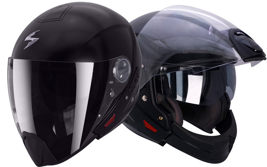 Casque moto et scooter Crossover Scorpion Exo 300 Air
