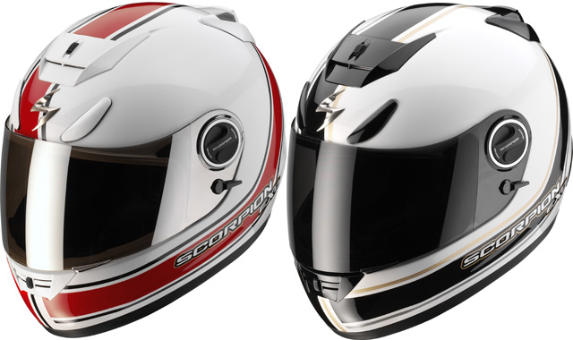 Casque moto Scorpion Exo 750 Air Vintage