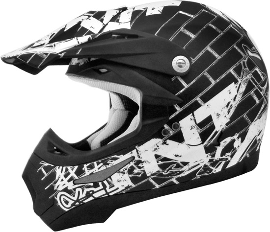 Casque cross TNT Helmets SC05 en version Street