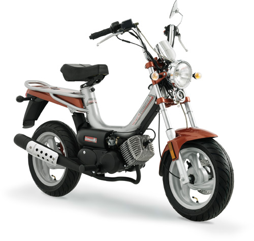 Cyclo Tomos Youngst'R en coloris gris et marron