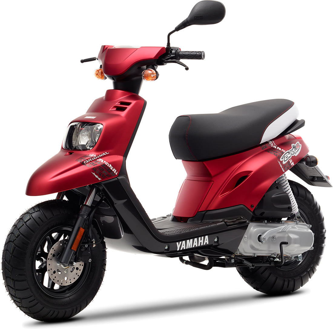 Le Yamaha Bw's 2014 sera disponible en Anodized Red. Superbe non ?