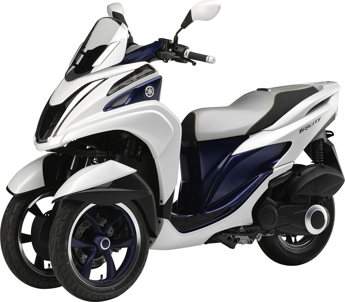 Yamaha Tricity Le Scooter A 3 Roues Compact