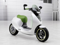 Scooter électrique Smart E-Scooter de face
