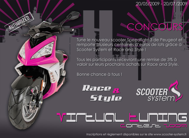 Concours Scooter System Virtual Tuning Contest 2009