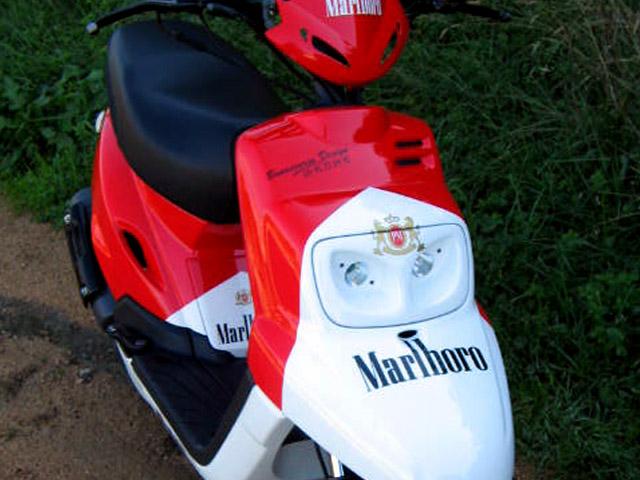 MBK Booster Spirit Marlboro Replica de Franco