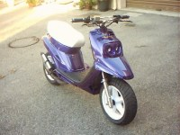MBK Booster Spirit Purple.Design de MHR-Man - 1