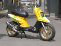 MBK Booster Spirit Yellow Racer made in Wipe2 - 1