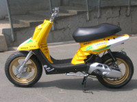MBK Booster Spirit Yellow Racer made in Wipe2 - 2