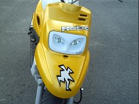 MBK Booster Spirit 2004 Hebo Yellow de Tantan - 2