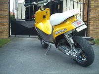 MBK Booster Spirit 2004 Hebo Yellow de Tantan - 4