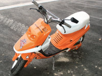 MBK Booster Spirit Orange Hebo de Quelot - 2