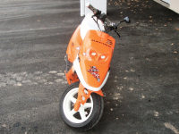 MBK Booster Spirit Orange Hebo de Quelot - 3